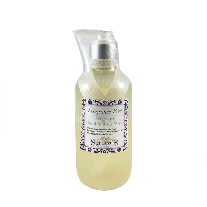 Fragrance Free Organic Liquid Soap Signa Scents